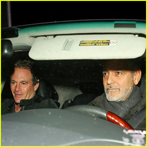 George Clooney & Rande Gerber Head Out After Dinner at Craig's!