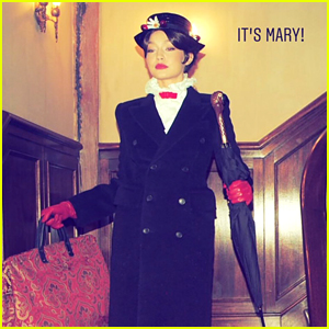 Gigi Hadid Dressed as Mary Poppins for Taylor Swift's NYE Party!