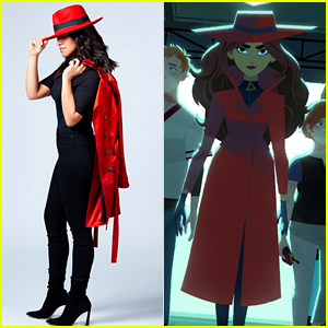 See Gina Rodriguez Transformed Into Carmen Sandiego!