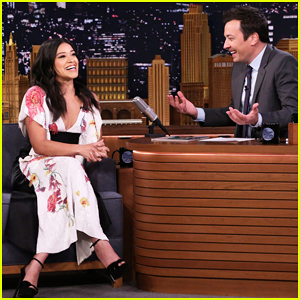 Gina Rodriguez Reveals She Met Her Fiancé Joe LoCicero When He Stripped for Her on 'Jane the Virgin'!