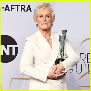 Glenn Close Wins Best Female Actor in a Leading Role at SAG Awards 2019!