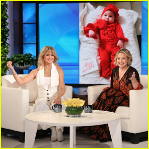 Goldie Hawn Got Too Close in Kate Hudson's Delivery Room: 'You're Going to Fall In'