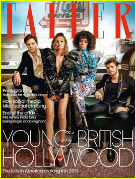 Gregg Sulkin & Dominic Sherwood Cover 'Tatler's Young British Hollywood Issue