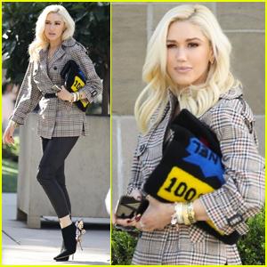 Gwen Stefani Starts Off Her Sunday with Church