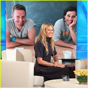 Gwyneth Paltrow Talks Ex Chris Martin Joining Her Honeymoon with Brad Falchuk on 'Ellen'