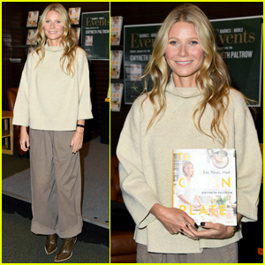 Gwyneth Paltrow Steps Out For 'The Clean Plate' Book Signing
