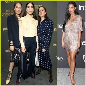 Haim & Nicole Scherzinger Step Out In Style for Golden Globes After Parties!