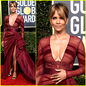 Halle Berry is Red-Hot at Golden Globes 2019: 'Devil's in the Details'