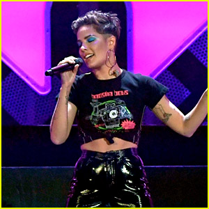 Halsey Scores First Solo No. 1 on Billboard Hot 100 With 'Without Me'!