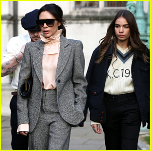 Brooklyn Beckham & Girlfriend Hana Cross Hang with His Famous Parents!