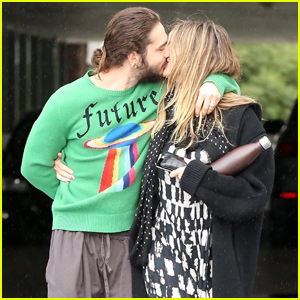 Heidi Klum & Tom Kaulitz Show Some PDA During Shopping Trip!