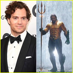 Henry Cavill Does His Best Aquaman Impression While Shirtless in Water!