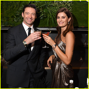 Hugh Jackman Toasts to Montblanc at SIHH in Switzerland!