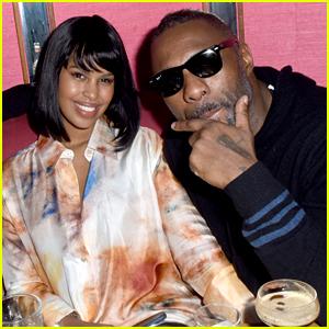 Idris Elba Celebrates New Year's Eve with Fiancee Sabrina Dhowre