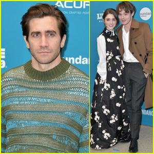 Jake Gyllenhaal & Natalia Dyer Premiere 'Velvet Buzzsaw' at Sundance Film Festival 2019
