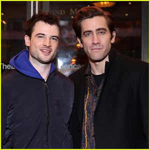 Jake Gyllenhaal & Tom Sturridge Buddy Up at 'True West' Broadway Opening