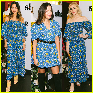 Jamie Chung, Georgie Flores, & Skyler Samuels Are Fashion Triplets at Shopbop x Rhode Dinner