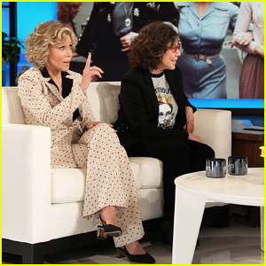Jane Fonda & Lily Tomlin Give 'Ellen' Update On Potential '9 To 5' Sequel