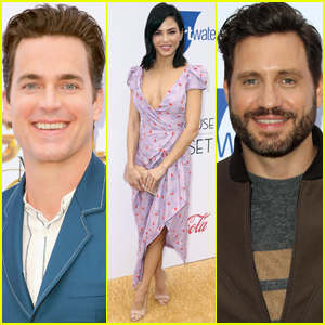 Jenna Dewan Joins Matt Bomer & Edgar Ramirez at Gold Meets Golden Event!
