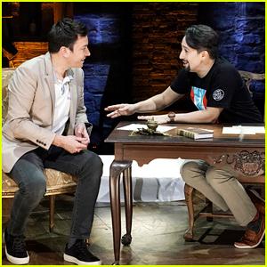 Watch Jimmy Fallon Interview Lin-Manuel Miranda on the 'Hamilton' Stage in Puerto Rico!