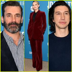 Jon Hamm, Jennifer Morrison, & Adam Driver Screen 'The Report' at Sundance Film Festival 2019