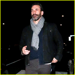 Jon Hamm Enjoys a Night Out in West Hollywood