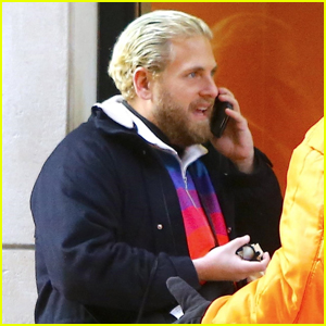Jonah Hill Slicks Back Blonde Hair for Day Out in NYC