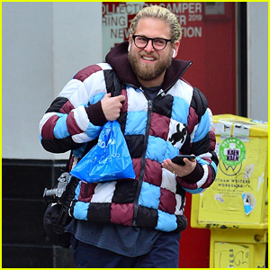 Jonah Hill Rocks a Checkered Jacket While Running Errands in Chilly NYC!