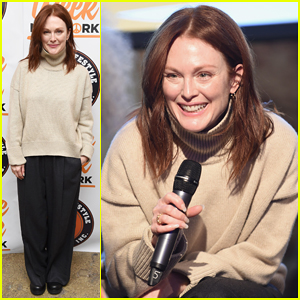 Julianne Moore Represents Peace Week at NYC's Town Hall!
