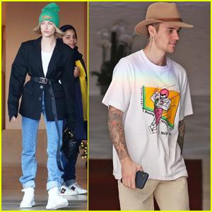Hailey & Justin Bieber Spend Their Days Separately in LA