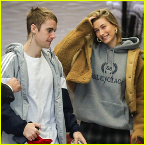 Justin & Hailey Bieber Grab Lunch Together Before Meetings in Los Angeles