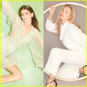 Kaia Gerber & Kate Moss Star in New 'Stella McCartney' Campaign