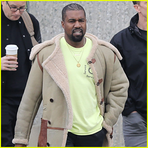 Kanye West Leaves a Business Meeting in Calabasas