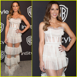 Kate Beckinsale Shows Her Style at InStyle's Golden Globes After Party!