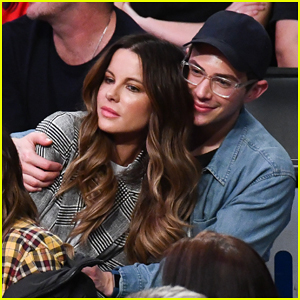 Kate Beckinsale Hangs Out With Bestie at Lakers Game!