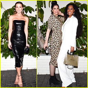 Kate Beckinsale, Sarah Silverman, & Tracee Ellis Ross Attend W Magazine's Pre-Globes Party!