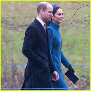 Duchess Kate Middleton & Prince William Head to Sunday Church Service