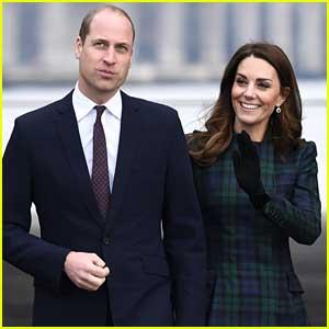 Kate Middleton & Prince William Make Royal Visit to Scotland!