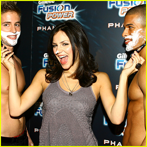 Katharine McPhee Praises Gillette By Giving Us a True #TBT!