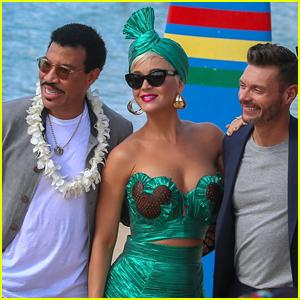 Katy Perry Joins 'American Idol' Judges to Film Scenes in Hawaii!