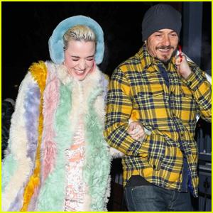Katy Perry & Orlando Bloom Continue Romantic Getaway in Aspen!