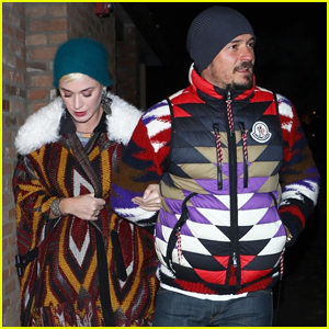 Katy Perry & Orlando Bloom Spend New Year's Day in Aspen!