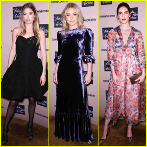 Doutzen Kroes, Kelly Ripa & Hilary Rhoda Step Out for Town & Country Jewelry Awards 2019!
