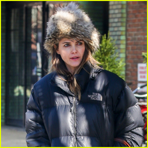 Keri Russell Bundles Up for Day Out in New York City
