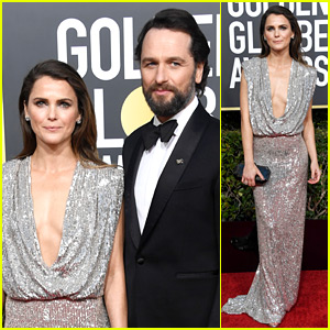 Nominees Keri Russell & Matthew Rhys Attend Final Golden Globes for 'The Americans'