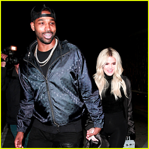Khloe Kardashian & Tristan Thompson Look So Happy After His NBA Win