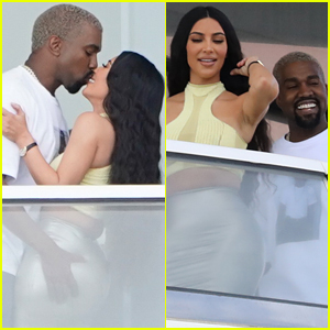 Kim Kardashian & Kanye West Pack on the PDA in Hot New Photos!