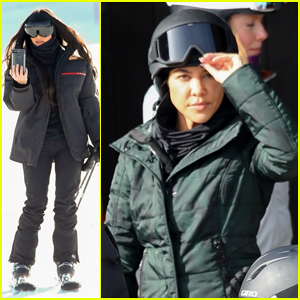 Kim & Kourtney Kardashian Hit the Slopes with Their Kids in Aspen!