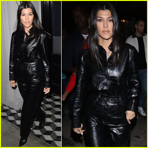 Kourtney Kardashian Kicks Off The Weekend With Family Dinner!