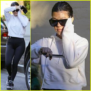 Kourtney Kardashian Steps Out in WeHo After Aspen Family Getaway!